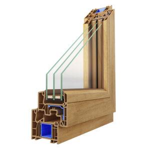 Systemecke 76mm Bautiefe Nebeneingangstür